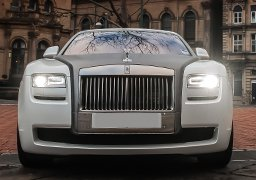 Rolls Royce Ghost Cheap Wedding Car Hire Derby