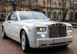 Rolls Royce Phantom Cheap Wedding Car Hire Nottingham