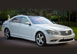 Mercedes S Class Cheap Wedding Car Hire Nottingham