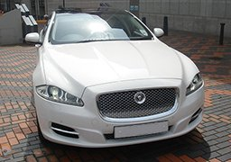 Jaguar Cheap Wedding Car Hire Nottingham