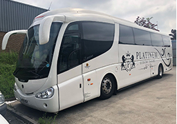 Coach Hire Pudsey - Platinum Luxury Travel